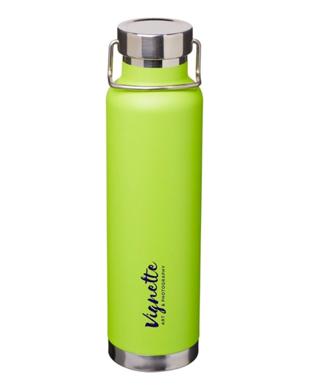 thor 650ml copper vacuum insulated bottles