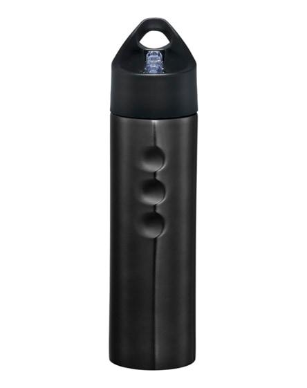 branded trixie stainless steel sport bottle