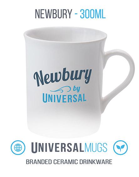 newbury ceramic mugs branded universal