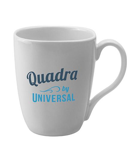 quadra ceramic mugs branded universal