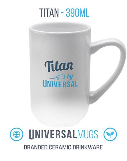 titan ceramic mugs branded universal
