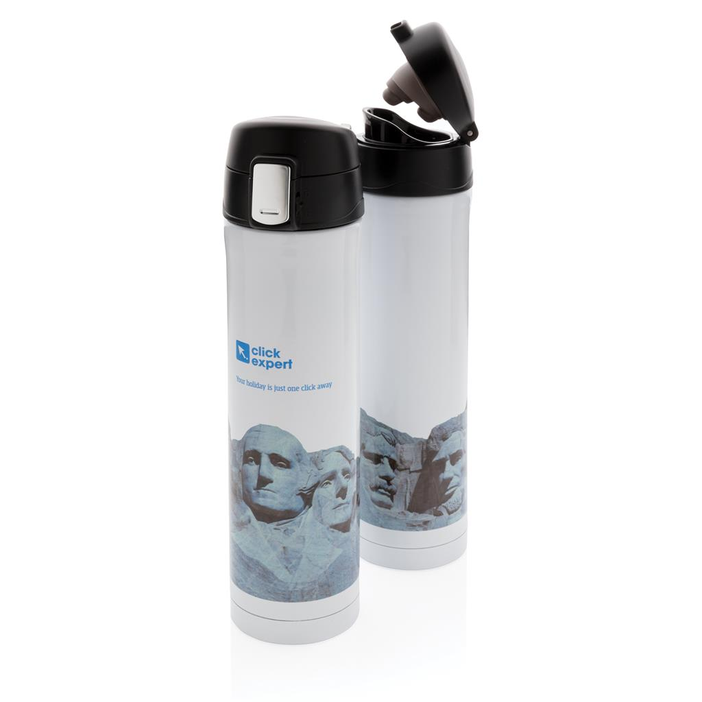 Printed Sample Easy Lock Vacuum Flask