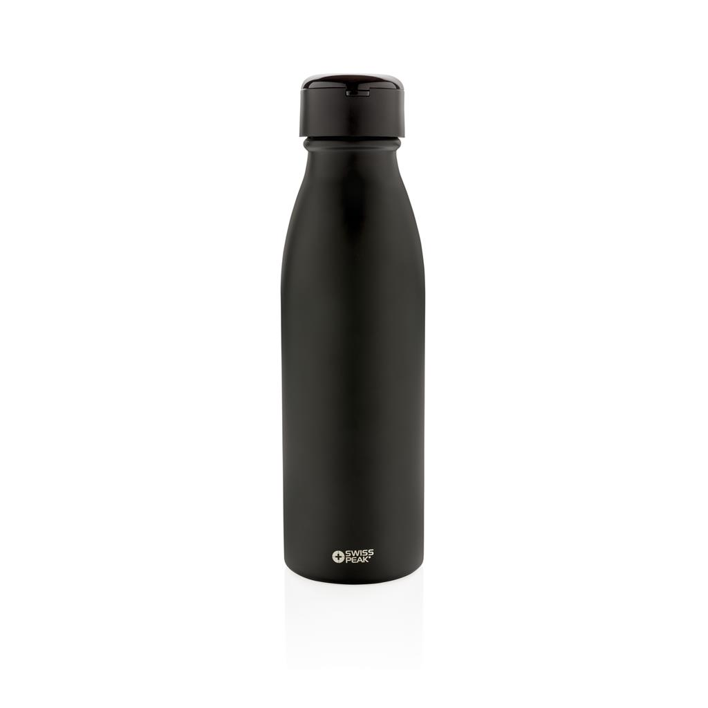 Swiss Peak Vacuum Bottle With Mini True Wireless Earbuds