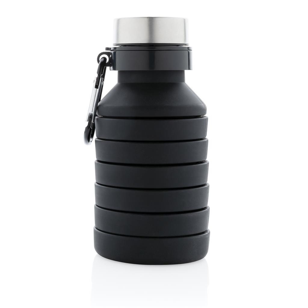Leakproof Collapsible Silicone Bottle With Lid
