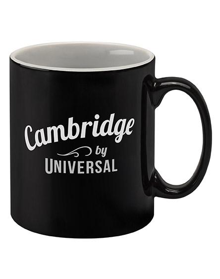 cambridge mugs branded universal black white