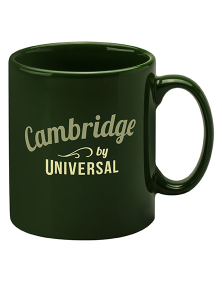 cambridge mugs branded universal forest racing green