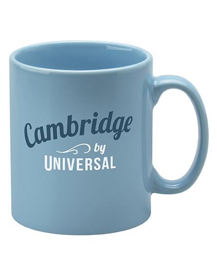 cambridge mugs branded universal light blue