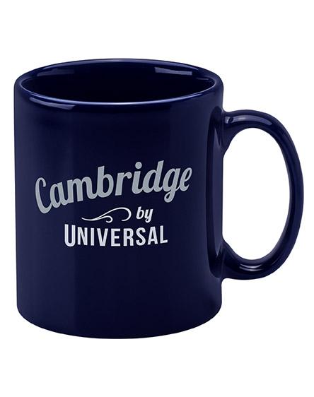 cambridge mugs branded universal navy blue