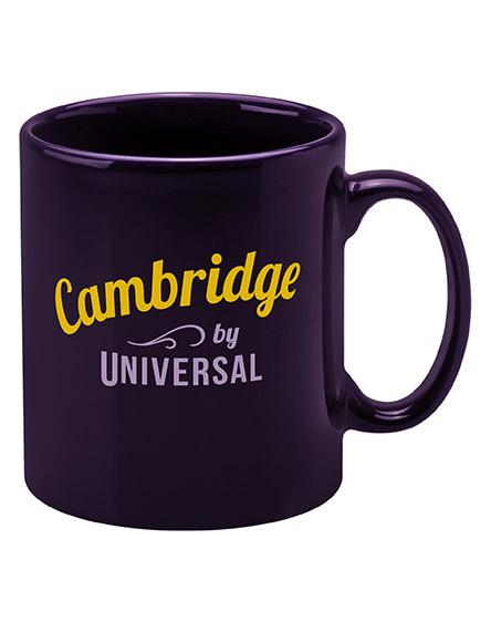 cambridge mugs branded universal purple