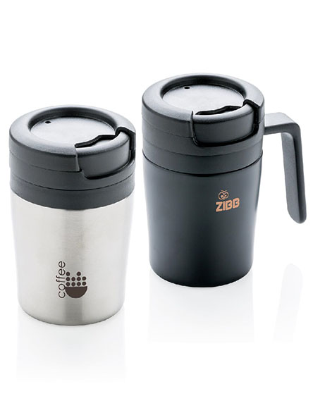coffee to go reusable travel mugs branded stainless steel