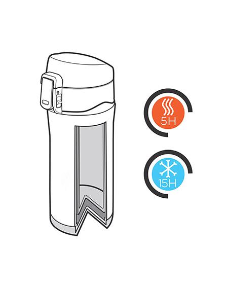 easy lock vacuum mug