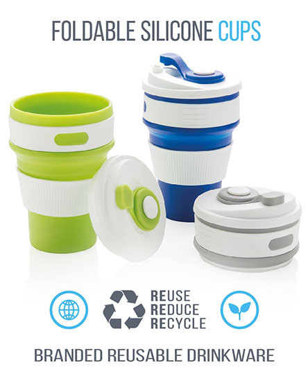 Reusable Coffee Cup Collapsible Silicone Mug High Quality