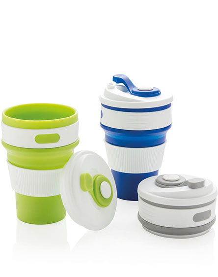branded foldable collapsible reusable cups