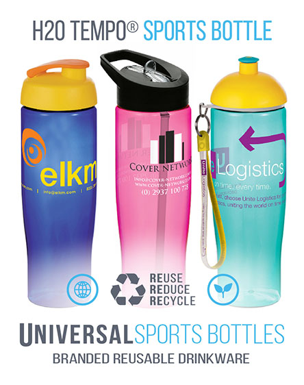 universalmugs h2o sports waterbottle