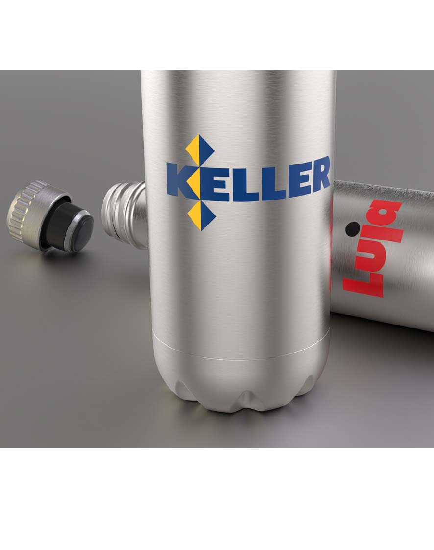 branded stainless steel bottles