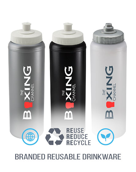 litre sports bottles branded and printed
