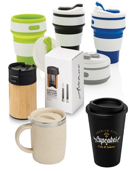 Eco Reusable Coffee Cups