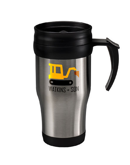 stainless steel thermal travel mug