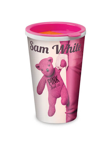 universal tumblers individually personalised and branded