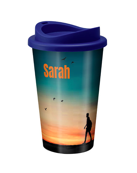 individually personalised reusable tumblers