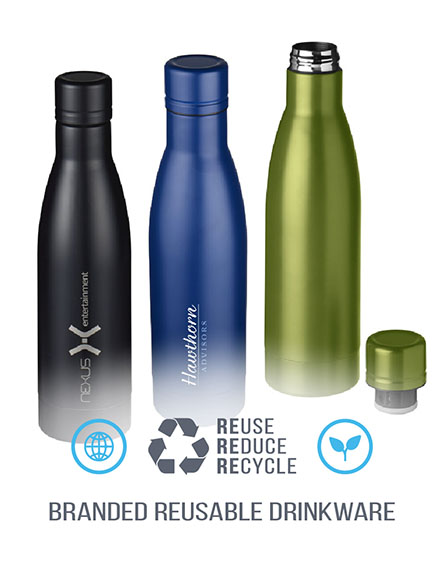 vasa copper vacuum insulated sports bottles